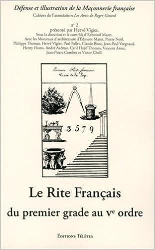 Livre Telechargeable Gratuitement Rite Francais Du Premier