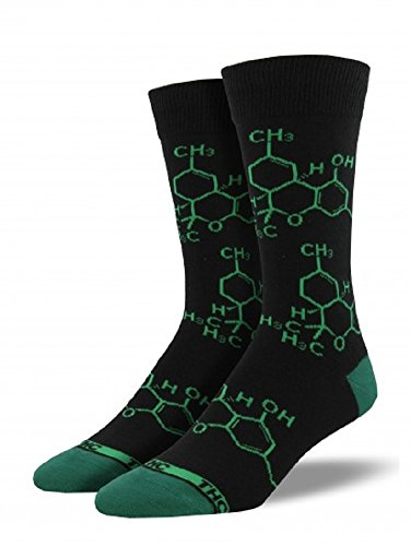 Socksmith Mens' Novelty Crew Socks