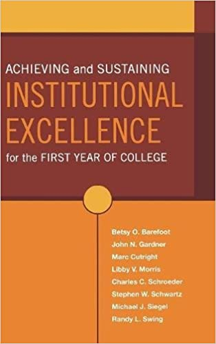 Amazon.com: Achieving and Sustaining Institutional Excellence for ...
