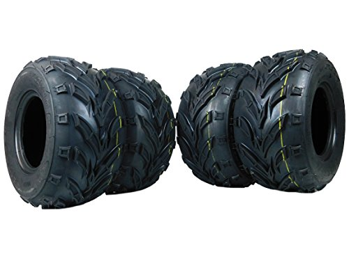 New 4 Pack of 16x8.00-7 MASSFX ATV /ATC Tires Tire 16x8-7 16/8-7 16x8x7