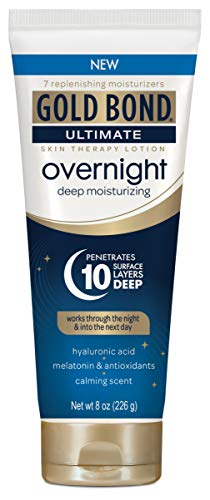 Gold Bond Ultimate Overnight Deep Moisturizing Lotion, 8 Ounce Tube (Best All Over Body Lotion)