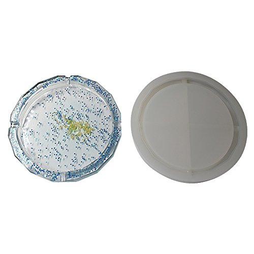Big Rhombus Shape Ashtray Polymer Clay Silicone Mold,Crafting,Resin Epoxy Making DIY Decoration Tools,Semi-Transparent ()