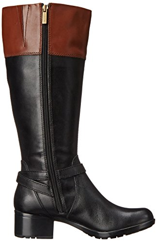Wide Tan Bandolino Women's Boot Calf Kona Riding Baya Black 8O7qwOE