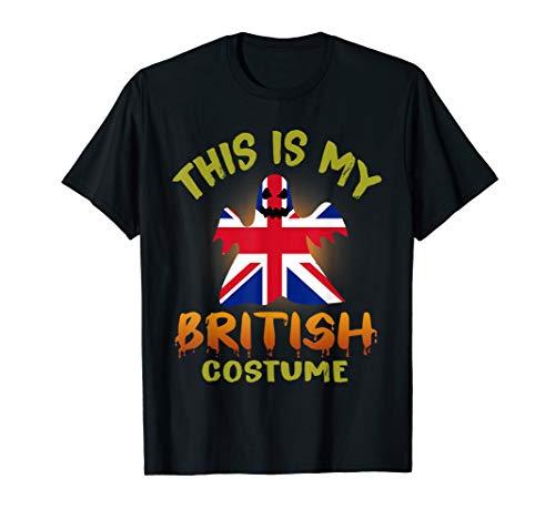This Is My British Costume Boo T-Shirt
