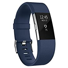 Fitbit Charge 2 Bands, Vancle Classic Edition Special Edition Adjustable Comfortable Replacement Wristbands for Fitbit Charge 2 Heart Rate (No Tracker)
