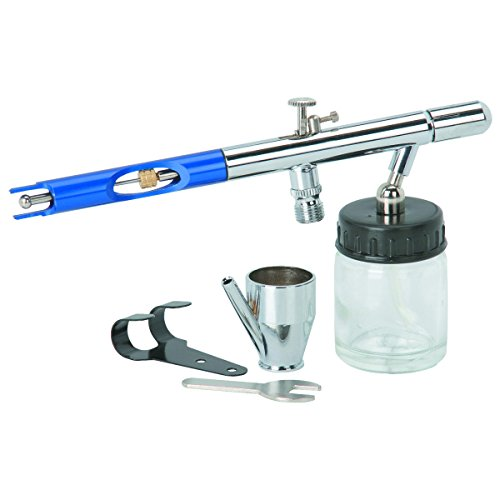 3/4 Oz Deluxe Airbrush Kit New 90 Day Warranty