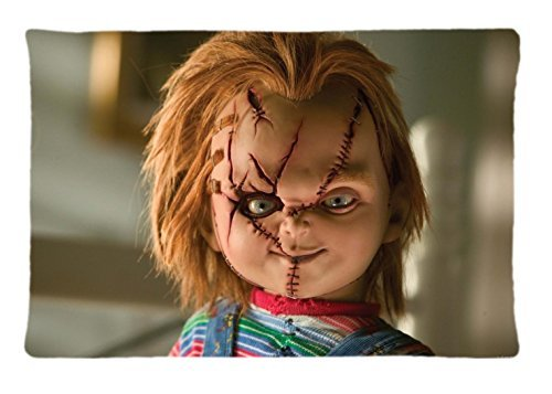 Charles Lee Ray Chucky Doll Custom Pillowcase Rectangle Pillow Cases 20x30 Inches (one side) (Chucky Dolls)