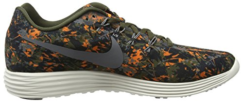 Nike Lunartempo 2 Print Men Us 9 Sneakers Multicolor