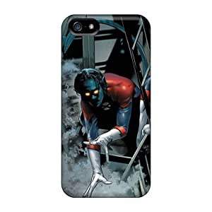 Scratch Protection Cell-phone Hard Covers For Apple Iphone 5/5s With Custom Fashion Nightcrawler I4 Image MarcClements