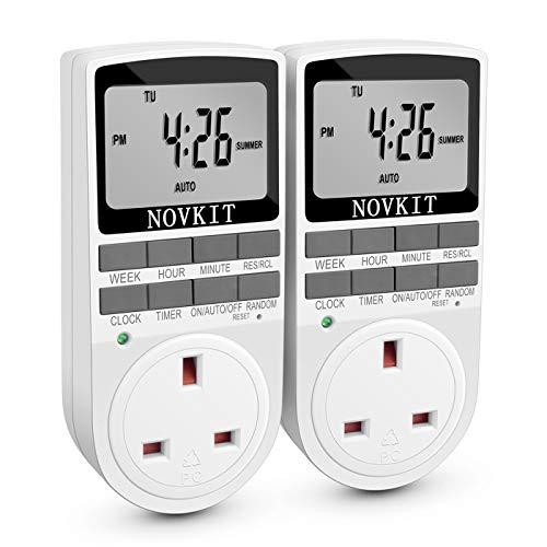 Digital Electrical Plug in Timer Socket 24 Hours / 7 Day Weekly...