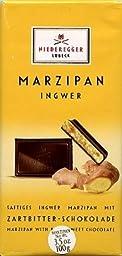 Niederegger Lubeck Ginger Marzipan Bar 100g (6-pack)