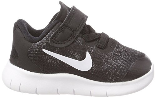 Nike Free RN 2017 (TDV), Zapatillas de estar Por Casa Para Bebés, Negro (Black/White/Dark Grey/Anthracite 002), 21 EU