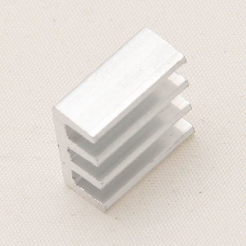 5pcs Efficient Adhesive Aluminum Cooling Heat Sink for Memory Chip IC