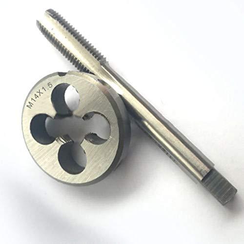 Tap Die - 1set Right Hand Round Die Tap M5m6 Lh Fine Thread Taps Dies M12 M14 M16m - Organizer Titanium Craftsman Chart Handle Drill Metric Case Holder Large