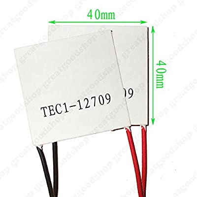 TEC1-12709 Heatsink Thermoelectric Cooler Cooling Peltier Plate Module top
