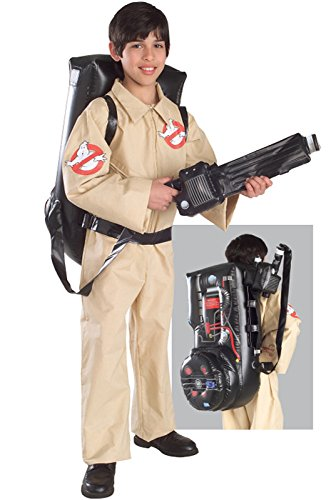 Boys Halloween Fancy Dress Costumes Kids Ghostbusters Costume (Large Image)