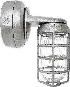(RAB Lighting VAPORPROOF CFL BRACKET 13W QT 3/4 WITH GLASS GLOBE CAST)