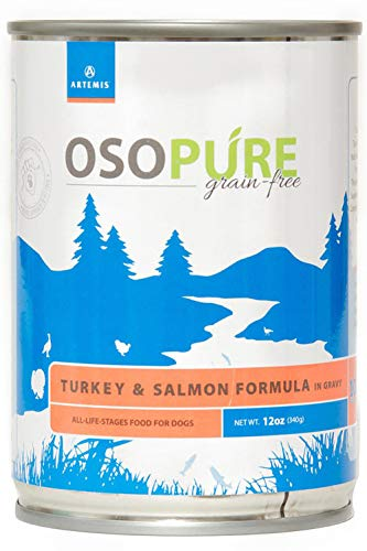 Artemis OSOPURE Wet Dog Food – Grain Free Limited Ingredient Canned Gravy Protein Nutrition All Life Stages Case of 12…