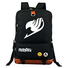 KINOMRTO Japanese Anime Cosplay Canvas Messenger Bag Backpack School Bag