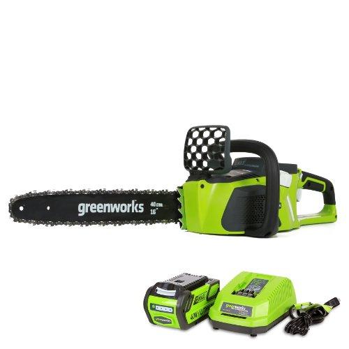 Greenworks 20312 40V Cordless 16 in. Chainsaw Kit