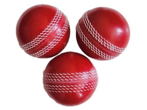 Pro Impact Poly Soft PVC Cricket Balls – 6 BALLS