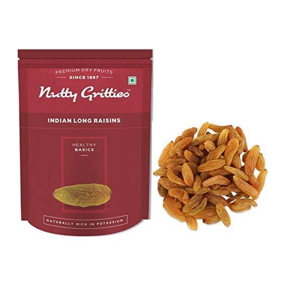 Nutty Gritties Long Raisins Kishmish - 200g