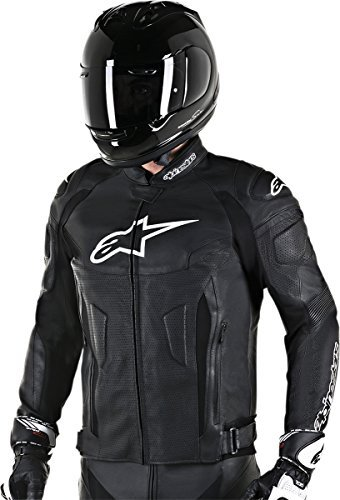 Alpinestars GP Plus R v2 Mens Airflow Leather Jacket Black 54 EUR ()