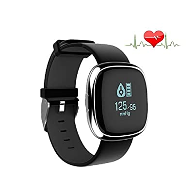 P2 Health Smart Watch with Blood Presure Monitor Heart Rate Monitor, Wireless Bluetooth Call Remind Auto Sleep Monitor Sport Pedometer Fitness Tracker for Android IOS Phones