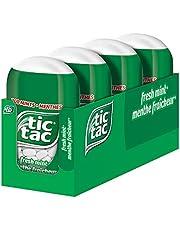 tic tac Mints, Fresh Mint, 98 Grams, 4 Count Bottle Packs