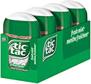 tic tac Mints, Fresh Mint, 98 Grams, Perfect Father's Day Gift for Dad, 4 Count Bottle Packs, 12 B