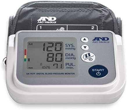 A&D Medical Upper Arm Blood Pressure Monitor for Up to 4 Users (UA-767F)
