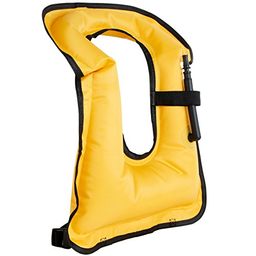 Faxpot Inflatable Jacket Snorkel Swimming product image