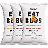 Chirps Cricket Protein Chips, Gluten-Free, High Protein, 5 Oz (Pack of 3) (Variety)