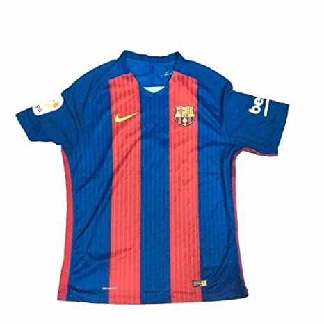 Amazon.com  Luis Suarez Signed Jersey - 2017 Ab17749 Barca - PSA DNA  Certified - Autographed Soccer Jerseys  Sports Collectibles 7531bc1cf