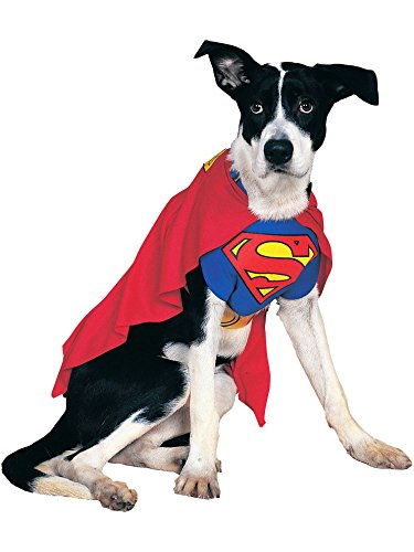 - DC Comics Pet Costume, Small, Superman