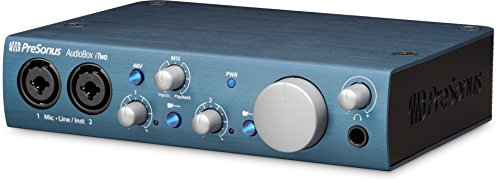 Presonus Audio Interface, PC/Mac/iOS - 2 Mic Pres (Audiobox iTwo) (Best Bus Powered Audio Interface)