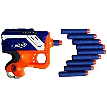 Smart Toys Dart Refill Back with Soft Tip and Nerf Zombie - 100 Blue