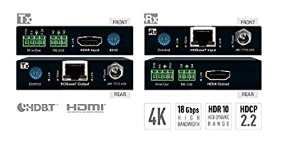 cc1dec5efccb Image Unavailable. Image not available for. Color  Key Digital KD-X444S  4K 18G POH HDBT HDMI Extenders ...