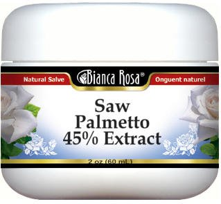 Saw Palmetto 45% Extract Salve (2 oz, ZIN: 524162) - 3 Pack