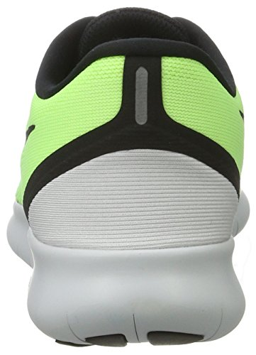 Nike Free RN Ghost Green/Black/Blue Moon Mens Running Shoes by Nike (Image #2)