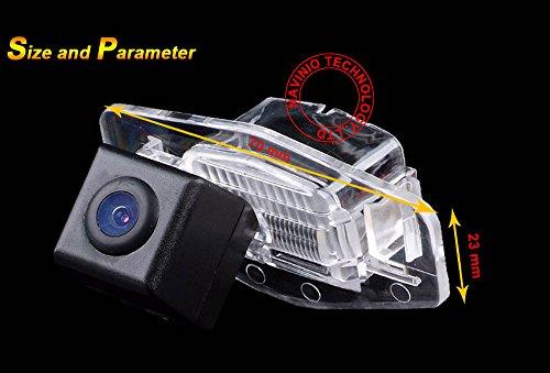 Dynavision car Backup Camera,Waterproof Rear-view License Plate Car Rear Backup Camera for CCD ...