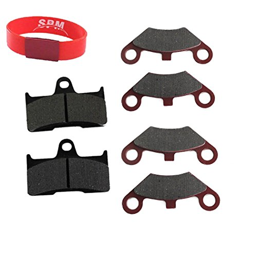 SPM 6PCS Front Rear Brake Pad Pads for CF Moto Cfmoto CF500 500CC 600CC X5 X6 X8 U5 ATV UTV Shineary 4 x 4