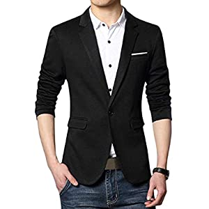 MENJESTIC Mens Casual/Formal Blazer Available in 7 Colours