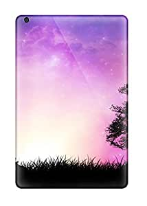 New Fashion Premium Tpu Case Cover For Ipad Mini/mini 2 - Chilling At Sunset