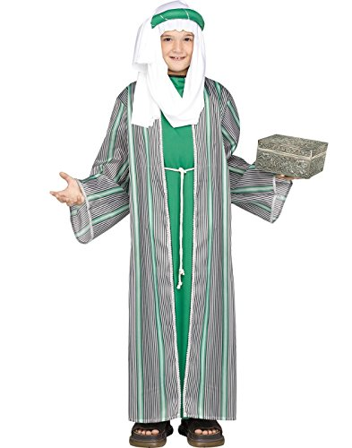 (Fun World Big Boy's 3 Wise Men Child Costume Childrens Costume, Multi,)