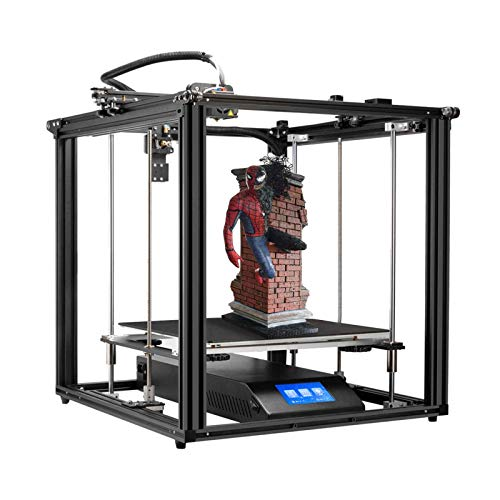 Adventurers Creality Ender-5 Plus 3D Printer 4.3 Inch Touchscreen Removable Tempered Glass Plate 3D Printer Auto Bed…