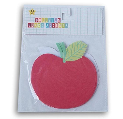 Bulletin Board Accents - Apples - 24 Count