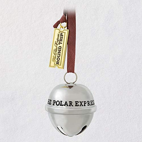 Hallmark Keepsake Christmas 2019 Year Dated, The Polar Express Santa's Sleigh Bell Ornament, Metal ()