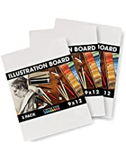 Crescent Creative Products Crescent Art & Illustration Board, 9 x 12, White