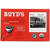 Boyd's Coffee Single Cup, Red Wagon, 12 Count (Pack of 6)